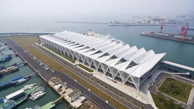 青岛邮轮母港客运中心钢结构工程获得中国钢结构金奖